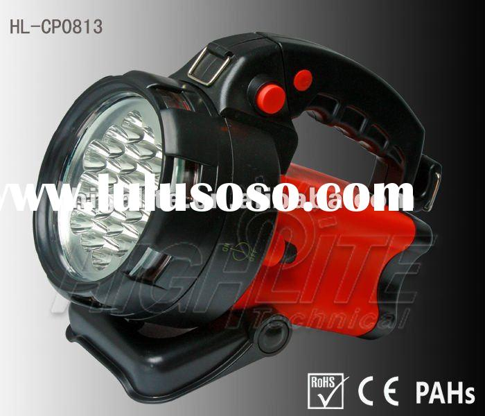 Led Spotlight with AC/DC & 12V car plug included
