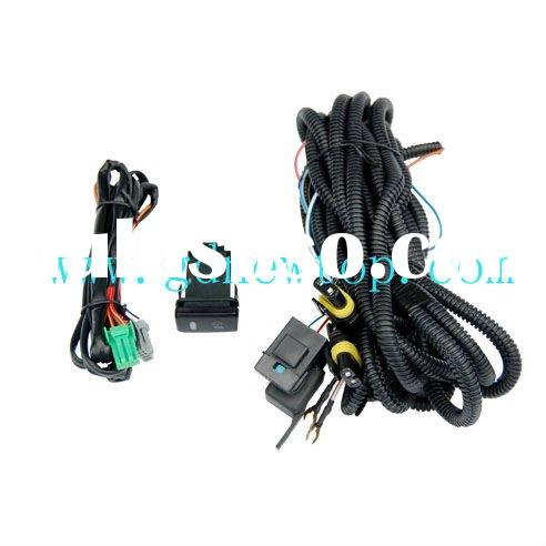 Lighting wiring harness for auto lighting system, for Toyota hilux vigo , China direct automotive wi