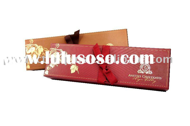 Luxury Chocolate Printed Paper Packaging round Gift Box