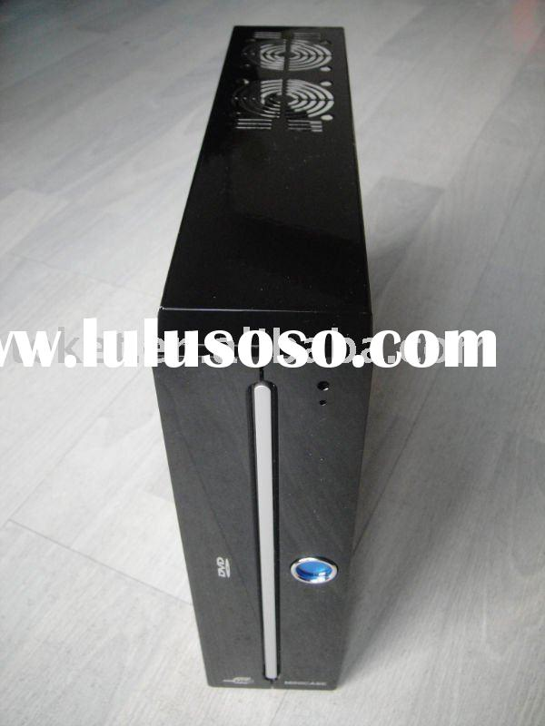 MINI-ITX Case, Mini PC chassis with fanless DC-to-ATX Power Supply, W05