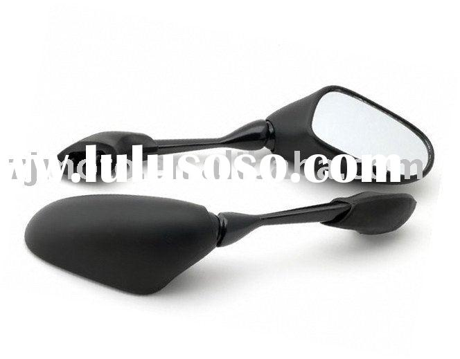 MOTORCYCLE MIRRORS For FZ1 2001-2005 Jet Black Racing Mirrors