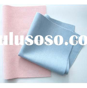 Microfiber cleaning cloth with PU cover