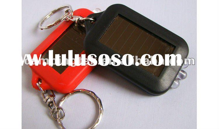 Mini 3 LED Solar torch/Solar Flashlight With Keyring