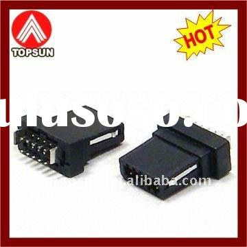 Mini USB Plug with 4-5-8-10-11 Pins Female Male Socket Connector, A B Type to 3.5mm Adapter Cable