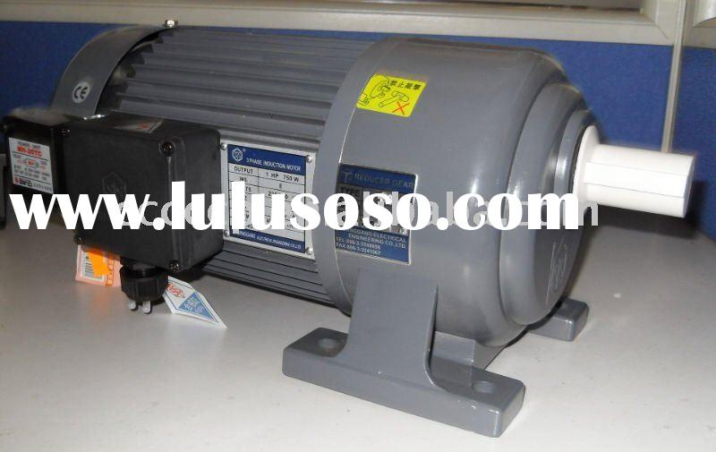 Dayton gear reduction electric motor dayton gear for Electric motor with gear reduction