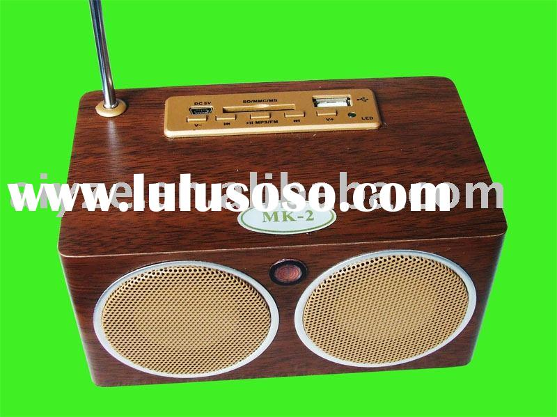 Mini speaker with FM+SD+USB,remote control MP3 Speaker,Mobile Speaker