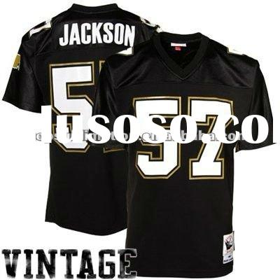 NFL New Orleans Saints #57 black