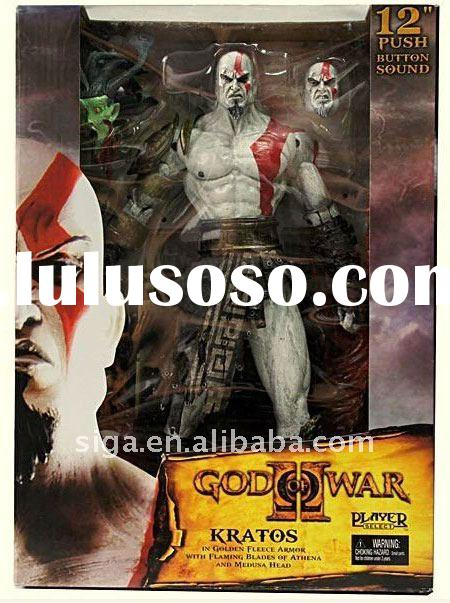 Neca God Of War 2 Ii Kratos In Ares Armor Action Figure 12""
