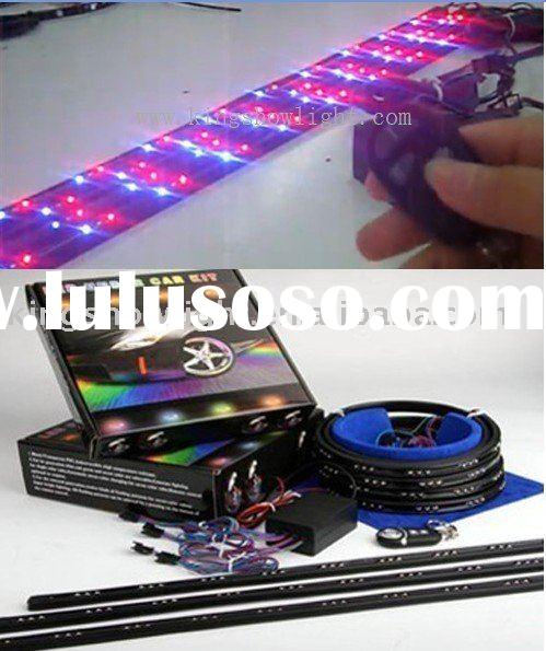 New 7-Color LED Under Car Lights with Wireless Remote Control