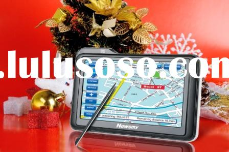 Newsmy Car GPS Navigation System S430, It is also a MP3/Video Player