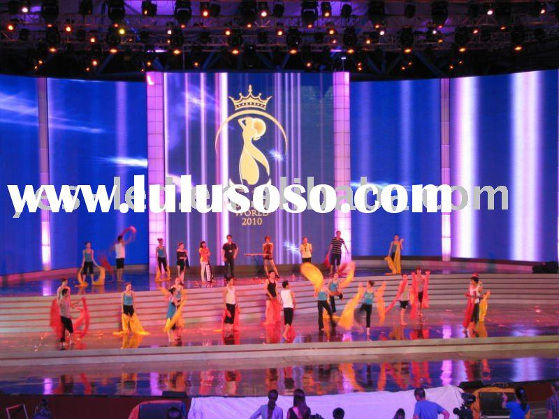 P7.62 Indoor full color SMD stage led display,backdrop led video screen/stage live show led board