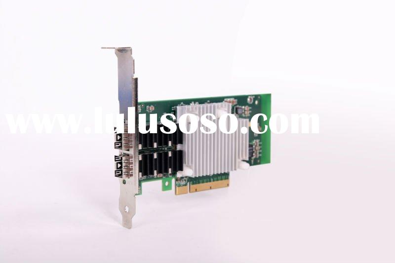 PCI-E*8 Dual Port 10G Ethernet Adapter Card (SFP+)