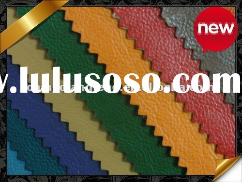 PU artificial leather for shoes and bags 2012 new
