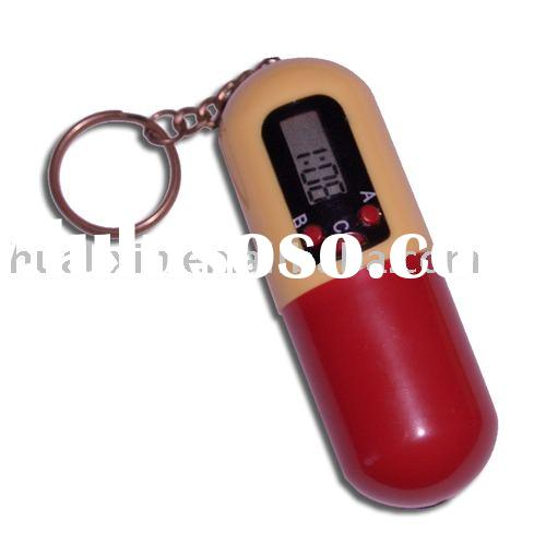 Pill Box Timer With Key Chain,pill box timer,pills timer,pill reminder,pill timer,voice timer,medica