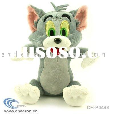 Plush cat toy Tom and Jerry