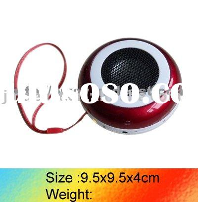 Portable Gift Mini Speaker With USB/SD Card Reader