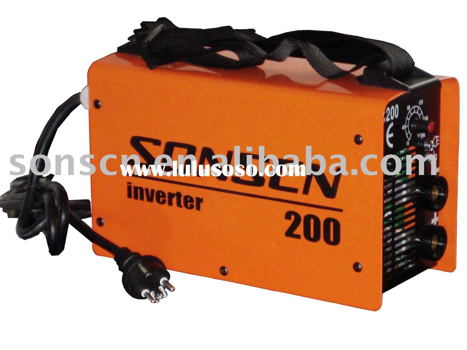 Portable inverter DC arc welding machine/mma welding machine/arc welder/mma welder ARC200
