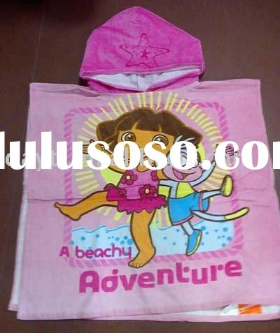 Power seller !Fashion Bath Towel Dora The Explorer Beach Towel cotton towel cape towel A0238 wholesa