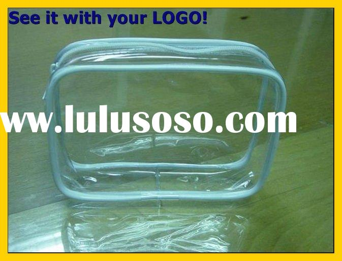 Promotional PVC bag with Zipper or Slider