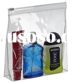 Promotional PVC bag with zipper and slider