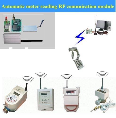 Automatic Meter Reading : Meter reading test for gas