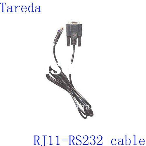 RJ11 to RS232(9Pin) Data Cable for Consumer electronic products