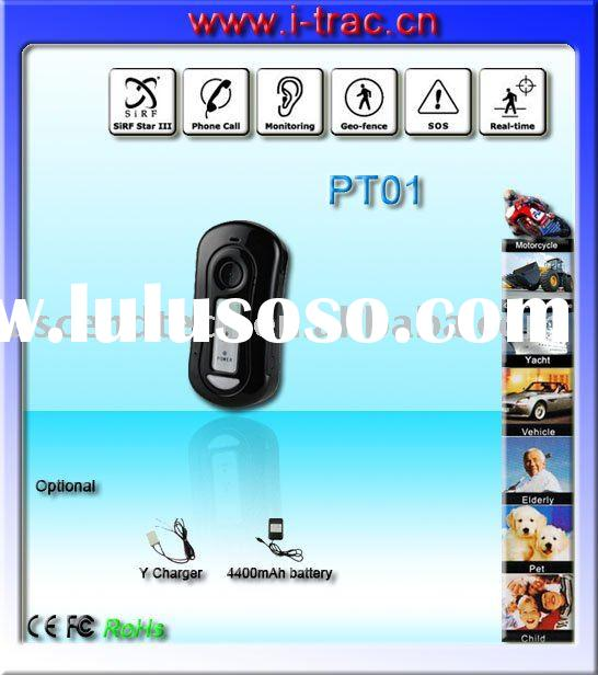 Real time Mini gps tracking device with gprs web based tracking software