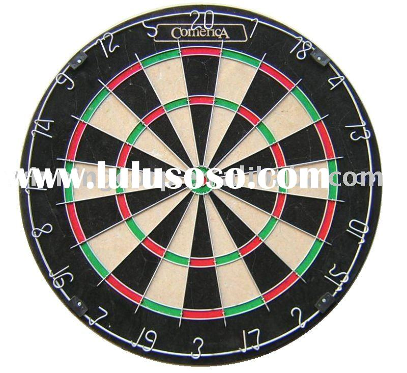Round Wire Sisal Bristle Dartboard Game