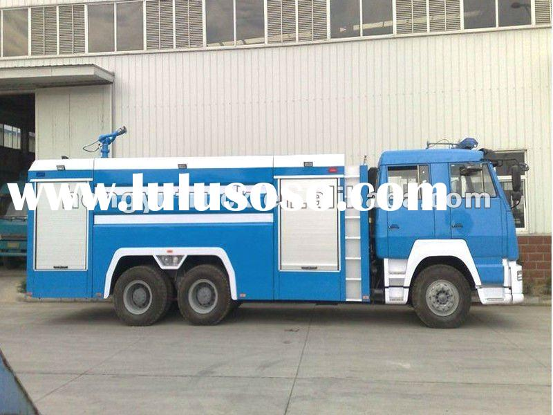 SINOTRUCK 6*4 Antique Fire Trucks for sale