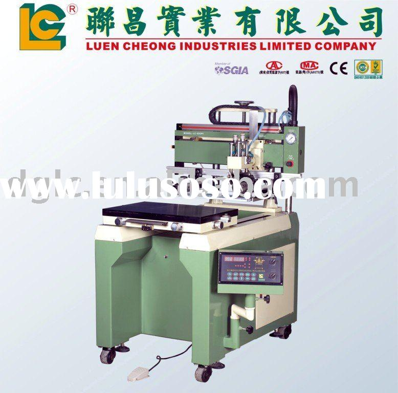 Semi Auto Flat Silk Screen Printing Machine with Moving Table