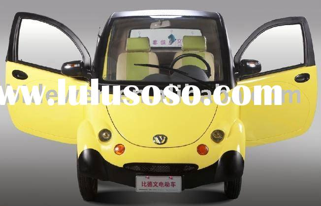 Smart design 4 wheel disc brake low price electric car