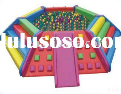 Soft play equipment Hexagonal ball pit