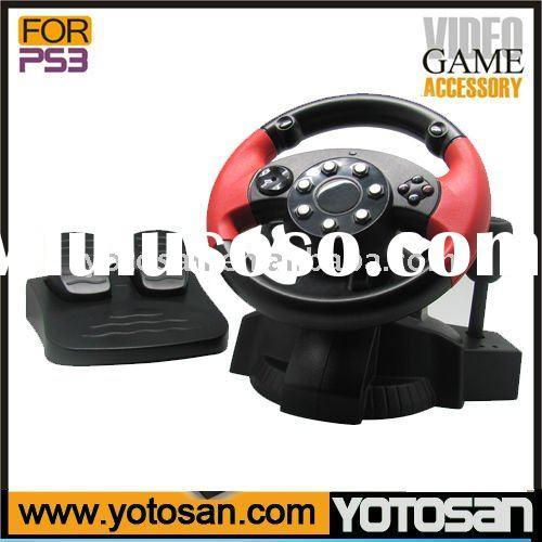 Steering wheel for PS3 PS2 PS1 PC Racing Wheel