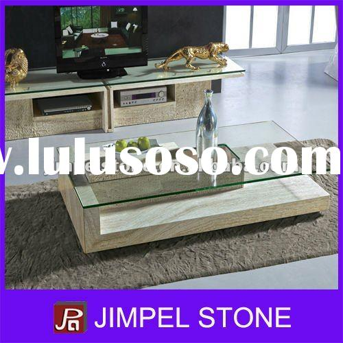 Stone Table Base for Glass Top
