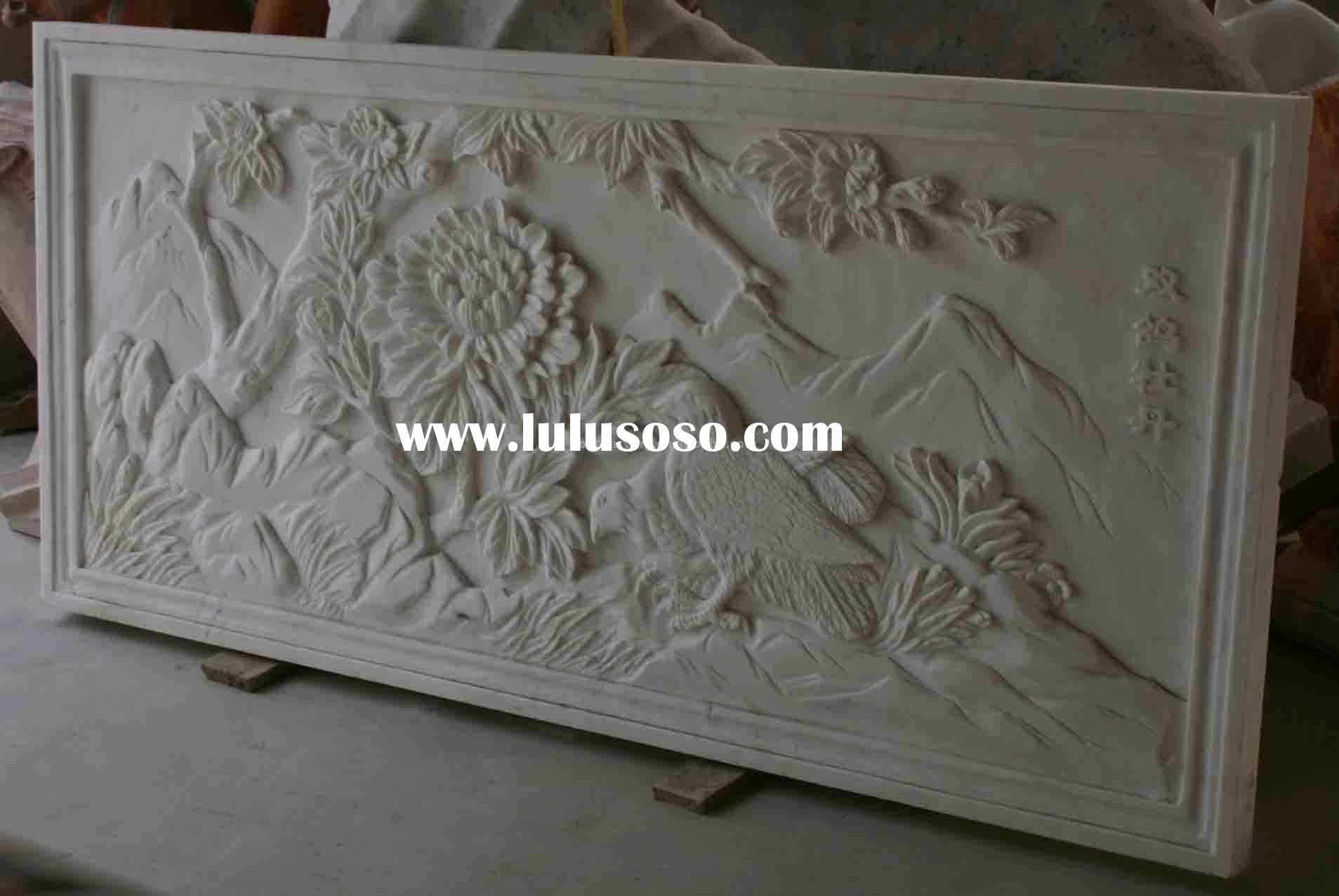 Stone carving-relief