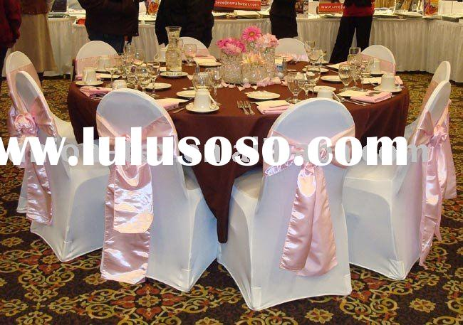 Stretchable Chair Covers For Wedding Or Banquet (WU-Cc-07)