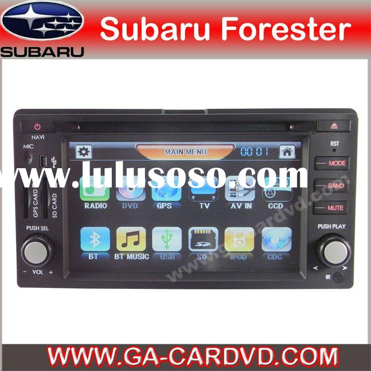 Subaru forester car dvd gps navigation system with Bluetooth\IPOD\RDS
