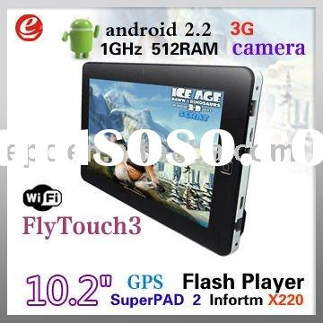 Super Pad Android 2.2 tablet 10 inch