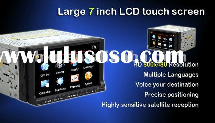 THC Blue steel New 2012 Universal Dual zone GPS TV Digital 7 inch Touch Screen Car DVD/Car Audio