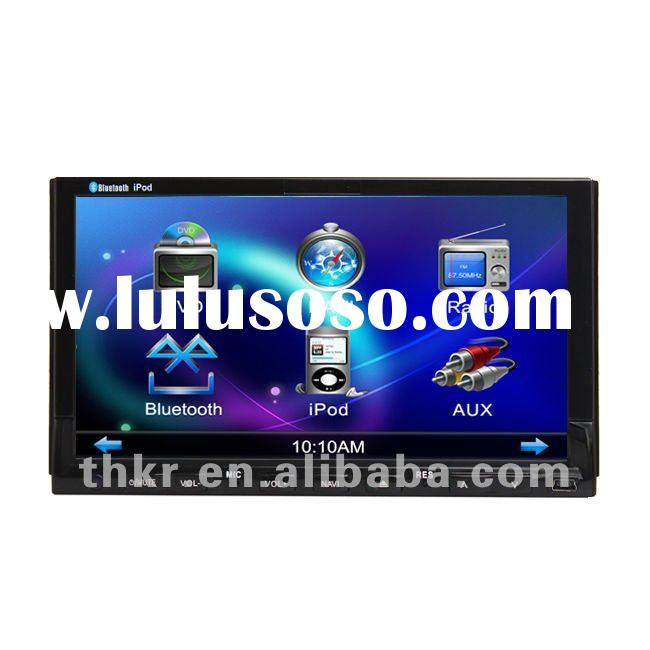 THC New Shiny Blue Sea Car DVD In dash 2 din 7 inch HD Touch Screen Car GPS/ Ipod/ iphone read