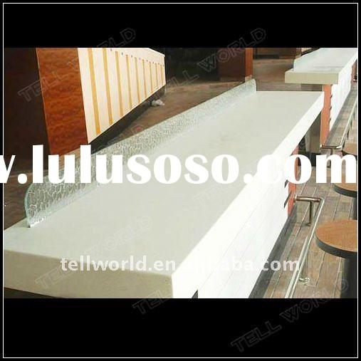 Man made marble countertop man made marble countertop for Synthetic countertop materials
