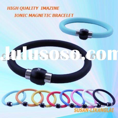 The most hot health care Silicone ION bracelets in 21 century