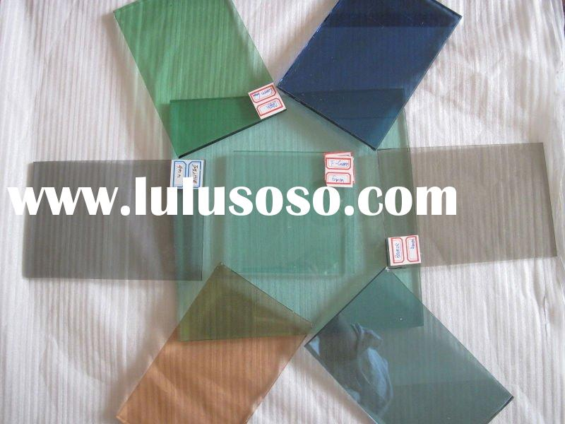 Tinted float glass(Color:Euro bronze, Euro grey. dark bronze, dark blue, Ford blue F green ect)