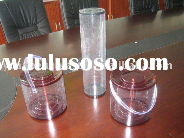 Transparent Plastic Tube For Crafts,Plastic Tubes For Packaging,Plastic Cylinder