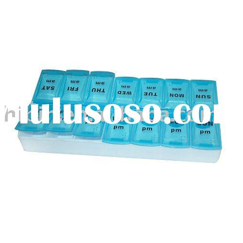 Twice A Day Weekly Pill Box (HB6218)