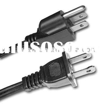 USA version power cord with fuse UL approval US type American style