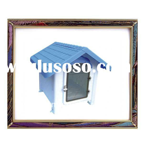 UW-PB-0006 New and popular plastic pet house with door for dogs and cats