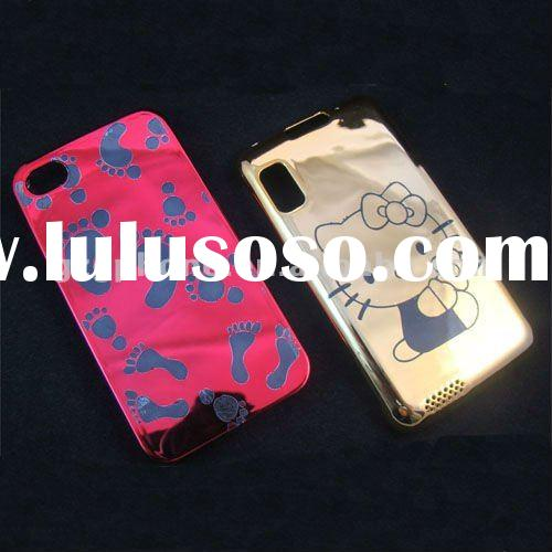 Ultra style case for mobile phone electroplate case