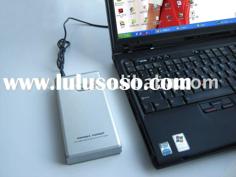 Universal portable laptop mobile charger with high capacity 13200mAh