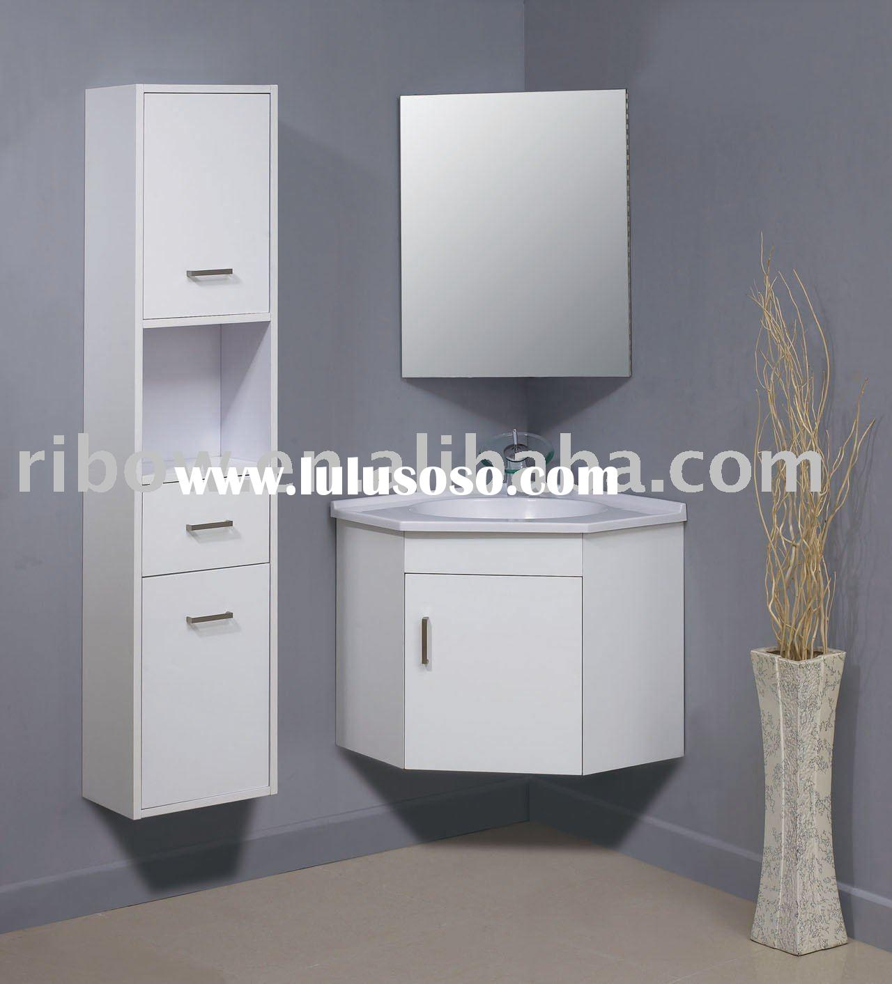 V95600-1 Wall-mounted bathroom corner cabinet